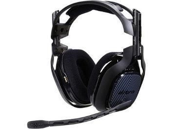 Astro Gaming Astro A40 TR Headset - Stereo - Black - Mini-phone - Wired - 48 Ohm - 20 Hz - 24 kHz - Over-the-head - Binaural - Circumaural - 6.56 ft Cable