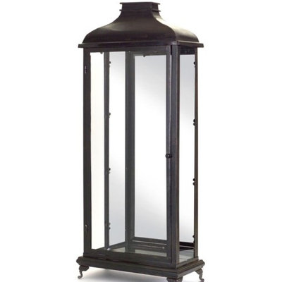 Melrose Set of 2 Decorative Black Rectangle Tall 34