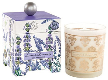 Michel Design Works Large Soy Wax Candle, Lavender Rosemary, 14oz