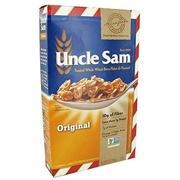 Uncle Sam Cereal, Original Whole Wheat Berry and Flaxseed Pack of 3