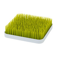 Boon - Grass Countertop Drying Rack - Spring Green and White