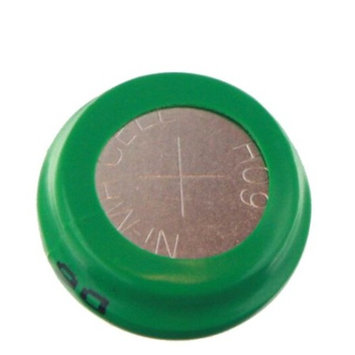 Exell Button 80mAh Rechargable 1.2V NiMH Flat Top Battery FAST USA SHIP