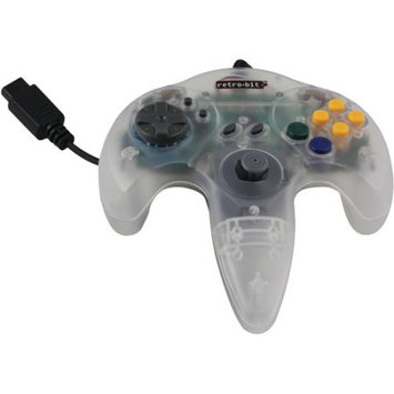 Innovation N64 Retro Bit Controller- White - Retro-Bit - RB-N64-1101