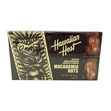 Hawaiian Host Macadamia Nuts Chocolate Covered
