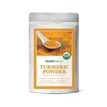Healthworks Turmeric Root Powder (Curcumin) Raw Organic, 2lb