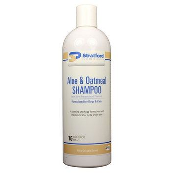 Aloe & Oatmeal Shampoo [Pina Colada scent] for Dogs & Cats [Stratford] (16 oz)
