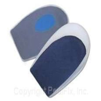 PediFix GelStep Heel Cups with Blue Zone Comfort - Spur Spot - L