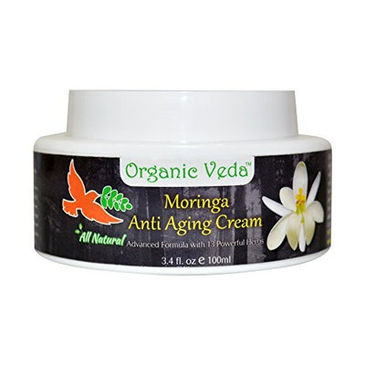 All Natural Moringa Anti Aging Cream. ★ Plant Based Vitamins and Minerals. ★ Advanced Herbal Formula with 13 Herbs ★ Ultimate Healthy Skin Rejuvenator. ★ Naturally Enhances Skin and Look. ★ Chemical FREE.