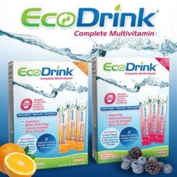Ecodrink® Multivitamin Drink Mix 60 Packets - (BERRY Flavor Only)