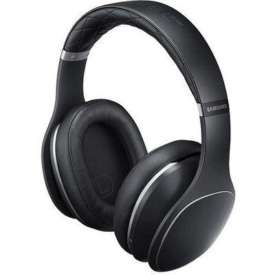 Samsung - Level Over - Over-the-ear Wireless Headphones - Black