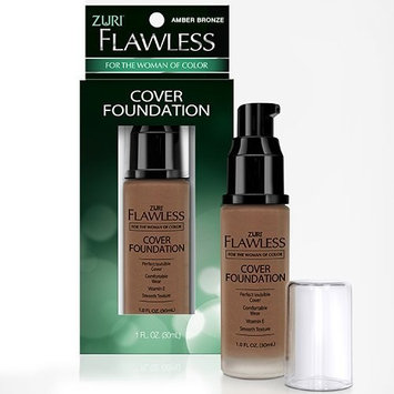 Zuri Flawless Cover Foundation - Amber Bronze