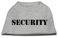 Mirage Pet Products 5148 SMGY Security Screen Print Shirts Grey with black text Sm 10