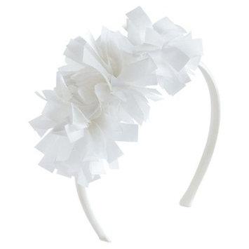 Girls' Pom Pom Headband Cat & Jack™ - White