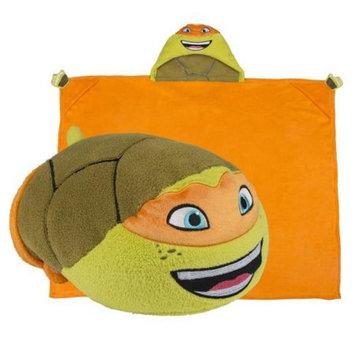Comfy Critters CCNICK0TMNTMI00000 Nick Mutant Ninja Turtles Michelangelo Blanket