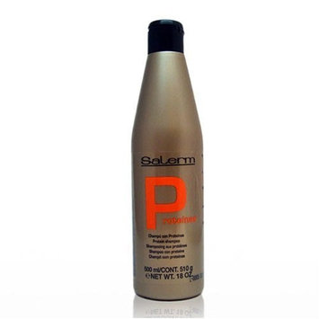 Salerm Protein Shampoo, 18 oz(500ml)