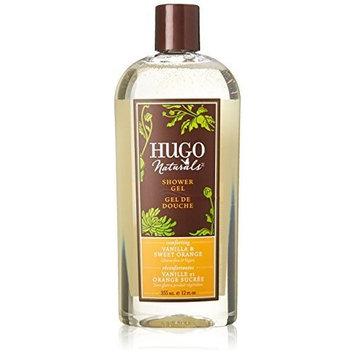 Shower Gel, Vanilla & Sweet Orange, 12 fl oz (355 ml) by Hugo Naturals