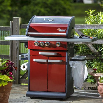 Fervor Icon 300R Red 3 Burner Gas Grill