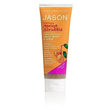 Jason Apricot Facial Wash & Scrub 128ml (PACK OF 4)