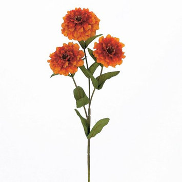 Teters Floral Products Zinnia X3 W/7 Leaves