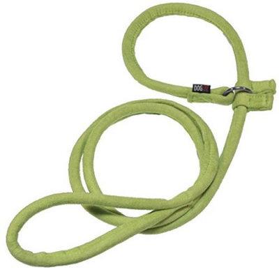 Dogline M8053-5 60 L x 0. 5 W inch Comfort Microfiber Round Slip Lead, Green