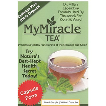 Dr. Miller's Holy Tea | My Miracle Tea Constipation Relief and DeTox Tea (1 Week Supply - Teabags)