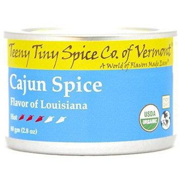Teeny Tiny Spice Co of Vermont Organic Cajun Spice, 2.8 Oz