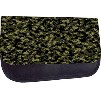 Rosie Parker TM Medium Sized Cosmetic Case-Made in the U.S.A.- Army Camo Print Design