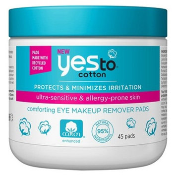 Yes to® Cotton Eye Makeup Remover Pads - 45 ct