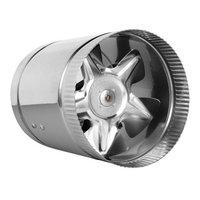 Hydro Crunch 240 CFM 6 in. Inline Duct Booster Fan for Indoor Garden Ventilation