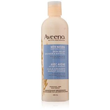 Aveeno skin relief shower & bath oil 10 oz