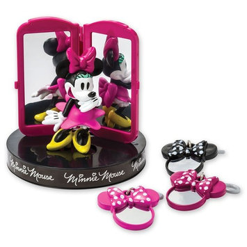 DecoPac Disney Minnie Mouse Bags, Bows & Shoes Signature Cake DecoSet Cake Topper