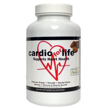 Health Guardian Cardioforlife Chewables Chocolate 60 Tablets