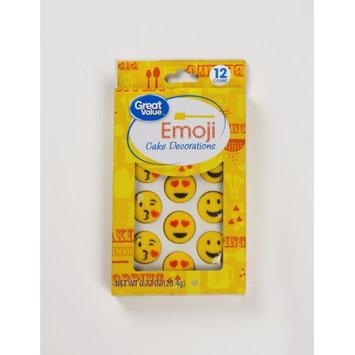 Lucks Food Decorating Company Great Value Love Emoji Cake Decorations