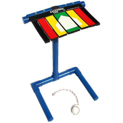 Baseball Pitching Training Aid with Tee Stand