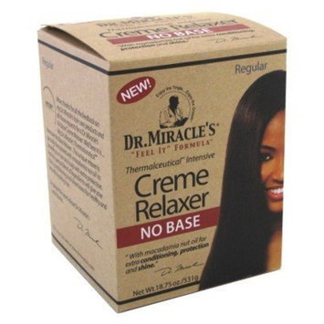 Dr. Miracle's Creme Relaxer No Base, Regular, 18.75 Ounce by Dr. Miracle's