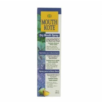 Mouth Kote Dry Mouth Spray, Oral Moisturizer with Yerba Santa 8 oz