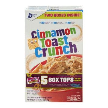 General Mills, Inc Cinnamon Toast Crunch Cereal - 2 PK, 20.25 OZ