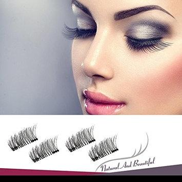 4 PCS Upgraded Magnetic Eyelashes, Coerni Full Eye False Eyelashes Set for Natural Look
