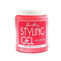 Queen Helene Gel 1 Lb. Stylng Gel Hard to Hold (Pink) (Case of 6)
