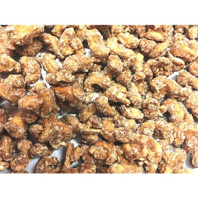 Damn Good Popcorn's Frosted Cinnamon Sugar Cashews