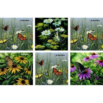 Hi-Look Inc. Rosemary Millette-Hautman Butterflies assorted - Pack of 6