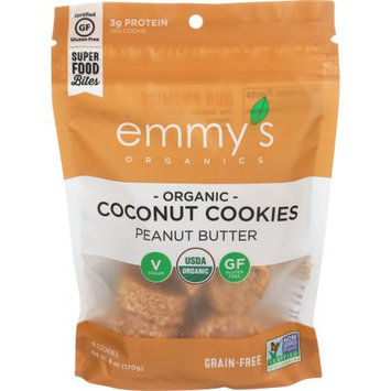 Emmy's Organics Coconut Cookies Peanut Butter