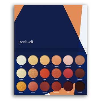 18 Super Pigmented - Top Influencer Professional Eyeshadow Palette all finishes, 5 Matte + 9 Shimmer + 4 Duochrome - Buttery Soft, Creamy Texture, Blendable,