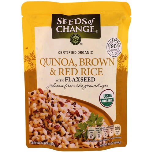 Seeds of Change® Organic Quinoa-Brown & Red Rice with Flaxseed 8.5oz