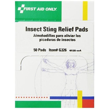 First Aid Only Insect Sting Relief Pad, 50 Count Box