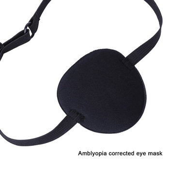 Agoky Medical Use Concave Eye Patch 3D Foam Groove Eyeshade to Treat Lazy Eye Amblyopia Strabismus for Adults Kids Rose One Size