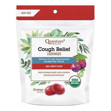 Quantum 231741 18 Count Cough Relief Bing Cherry Lozenges Bag