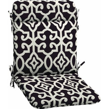 Better Homes and Gardens Outdoor Wrought Iron Chair Pad, Black Tile