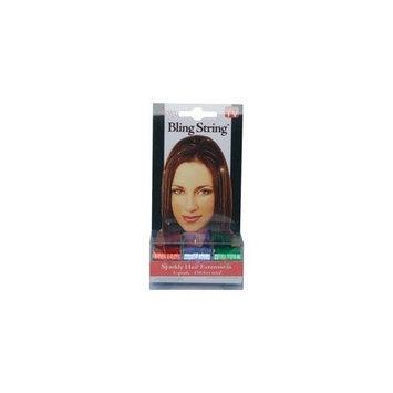 AS SEEN ON TV Bling String(TM) Sparkly Hair Extensions - Red/Green/Purple BLINGSTRINGB