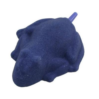 Aquarium Blue Frog Shape Air Stone Pump Bubble Release Tool